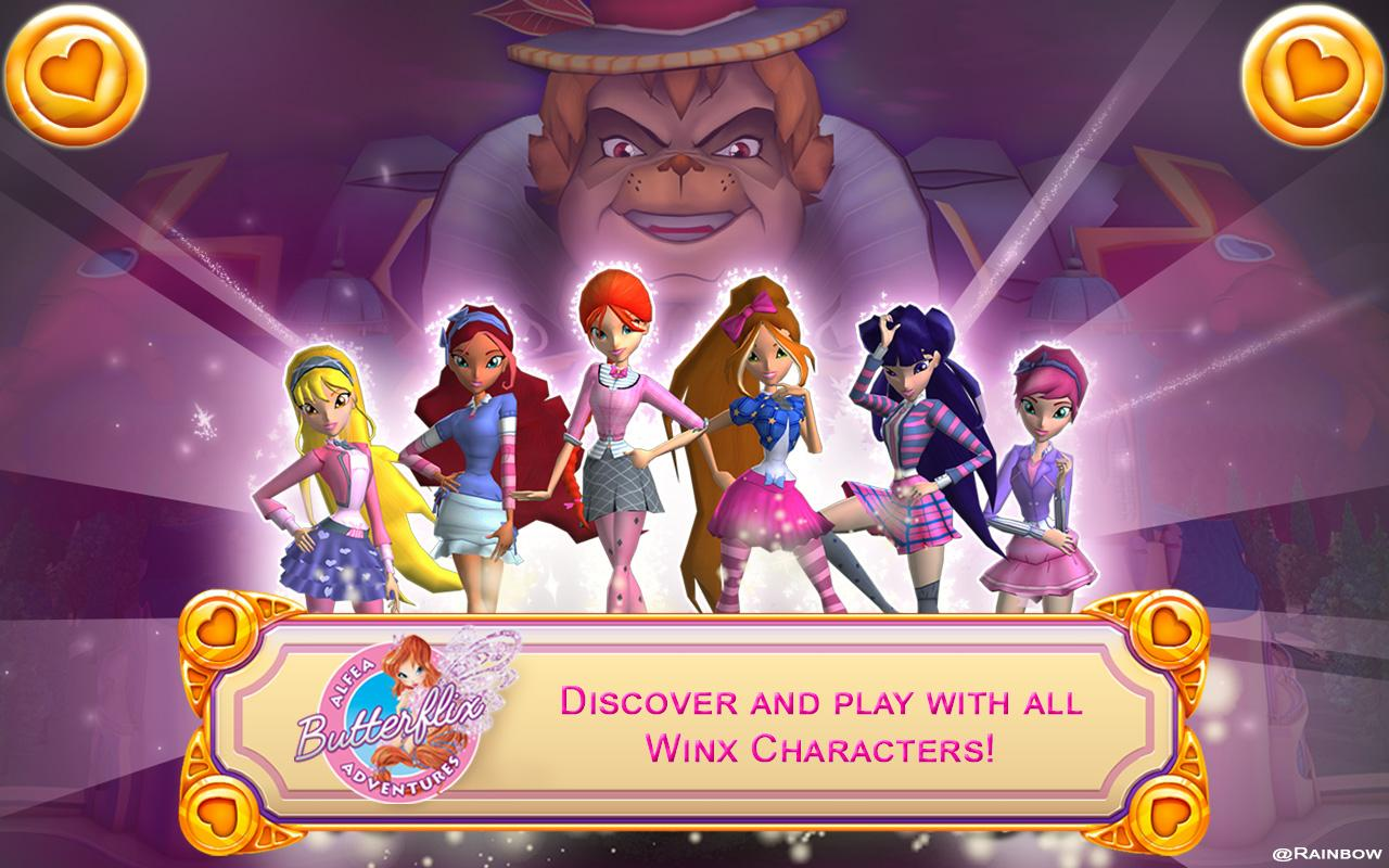 Winx: Butterflix Adventures- screenshot
