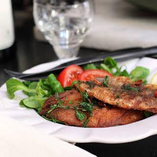 Fresh Sardine Fillets with Herbs.
