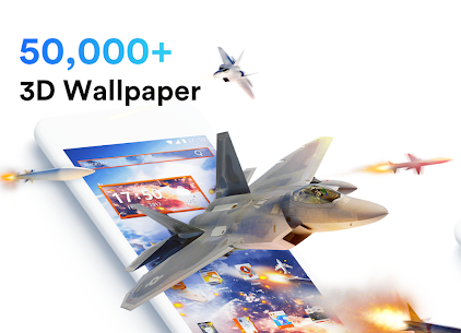 Air Launcher – Theme & 3D Wallpaper, Fast 4