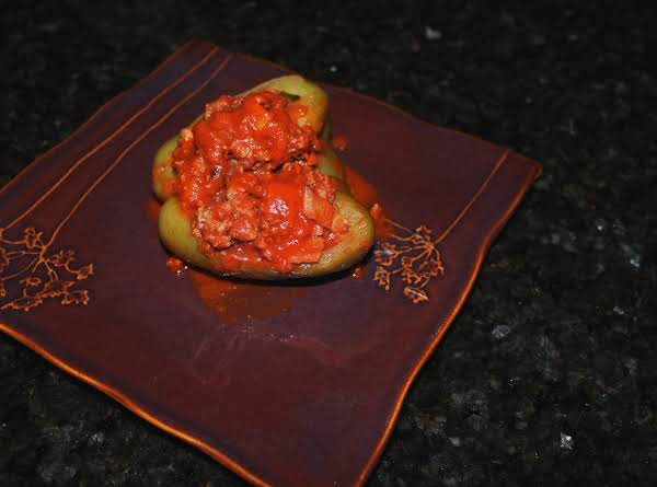 Stovetop Stuffed Peppers