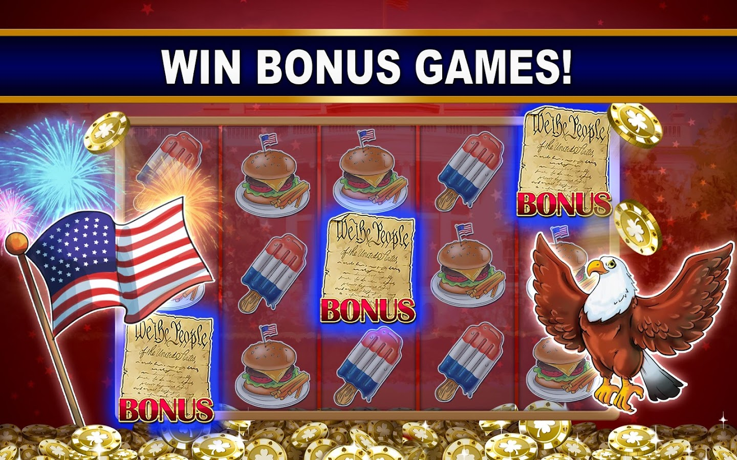 Play Free Bonus Games Online With a Bonus at Slots of Vegas