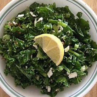 """""""Cafe Nervosa"""" Kale Salad"""