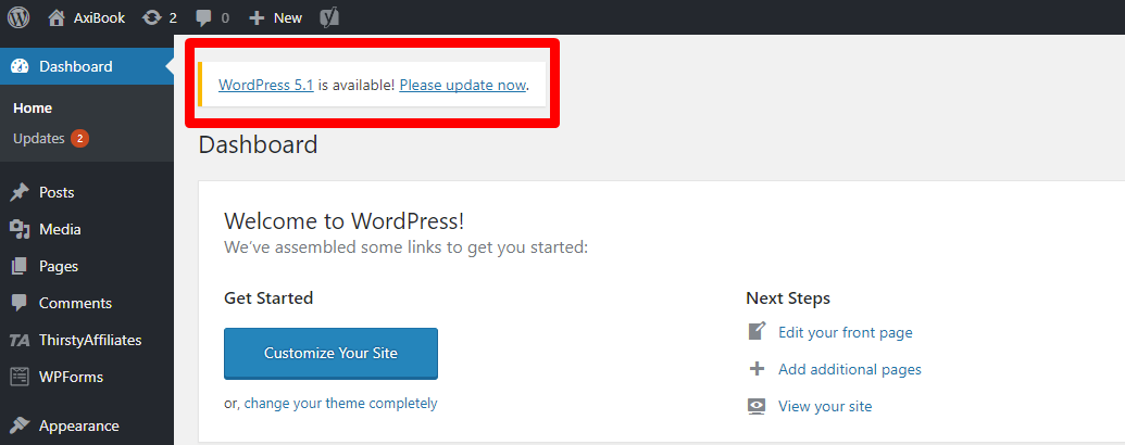 Must Check This Out Before Upgrading To WordPress 5.1