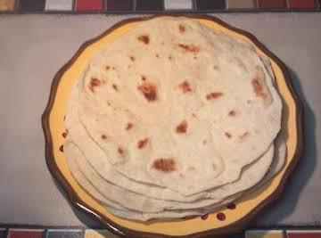 Light and Simple Flour Tortillas