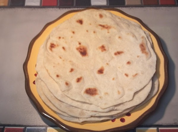 Light And Simple Flour Tortillas Recipe