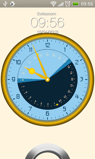 Sunday - Astronomical Clock Widget screenshot 2
