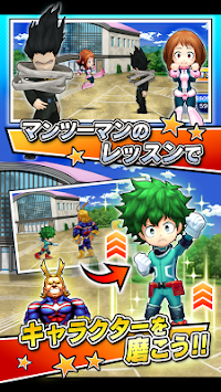 My Hero Academia smash tap apk screenshot