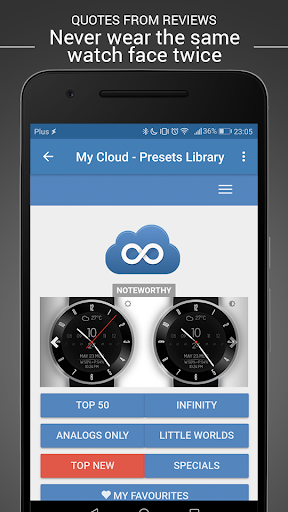 Watch Face - Minimal & Elegant for Android Wear OS  screenshots 12