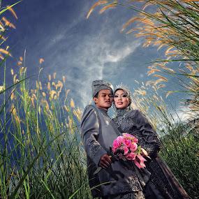 Asz & Roy by Ismail Rali - Wedding Other ( wedding, landscape, bride, people, flower )