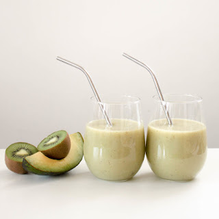 Apple Avocado Smoothie.