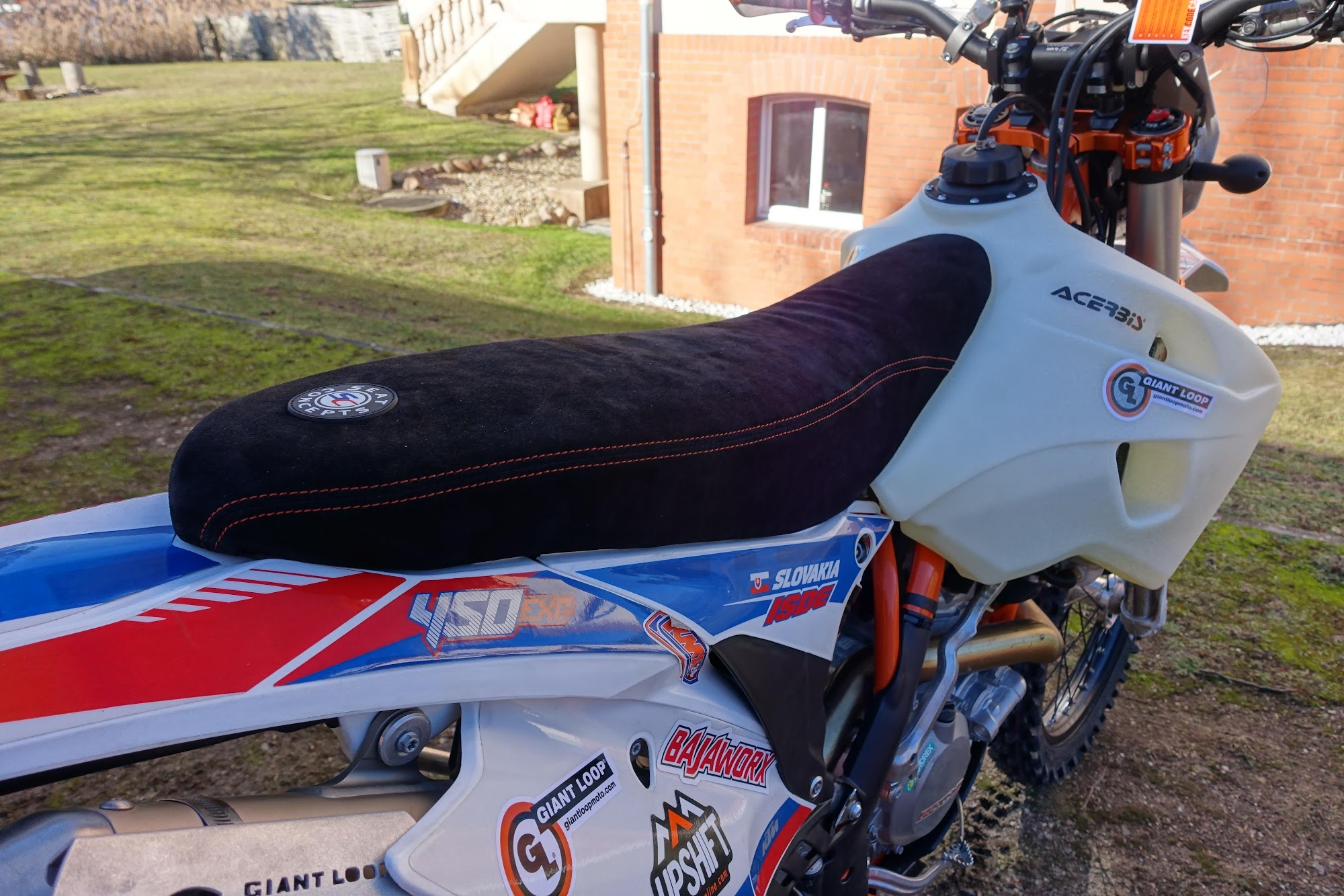 Luggage setup KTM 450 EXC | Jony Rides Around @jonykrause, Adventure