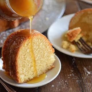 Almond Amaretto Pound Cake.