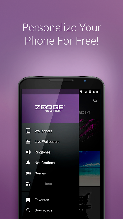 Screenshots of ZEDGE™ Ringtones & Wallpapers for iPhone