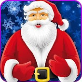 Santa Claus Photo Stickers