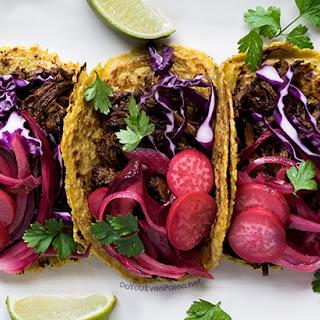 Barbacoa Brisket Tacos.