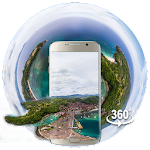 3D Phuket Tropical Island 3D Theme (VR Panoramic) Icon