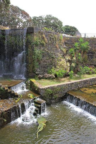 Городской парк в Рибейра Гранде