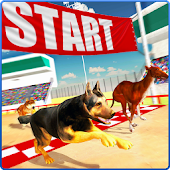 Dog Racing Stunt & Jump 3D Sim