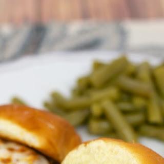 Slow Cooker Chicken Parmesan Sliders
