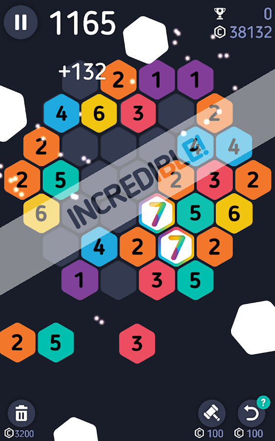 Make7! Hexa Puzzle- screenshot