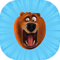 Angry grizzy game icon