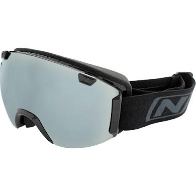 Optic Nerve Boreas Interchangeable Snow Goggle: Shiny Black, Spare Lens Included
