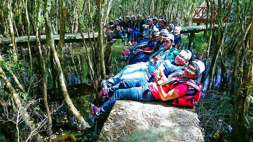 Về làng nổi Tân Lập khám phá rừng tràm 8