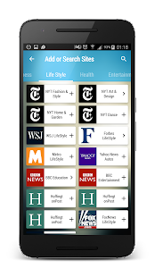 Max Reader - News, RSS feeds- screenshot thumbnail