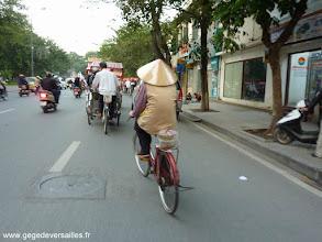 Photo: #012-Promenade en cyclo-pousse dans Hanoi