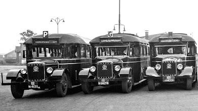 Photo: 1930 Stadsbussen van Belgische makelij reden o.a. naar Princenhage