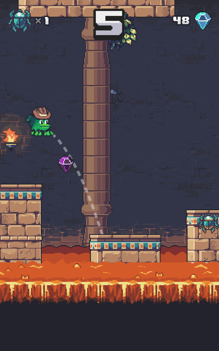 Temple Toad- screenshot