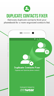 Duplicate Contacts Fixer and Remover Capture d'écran