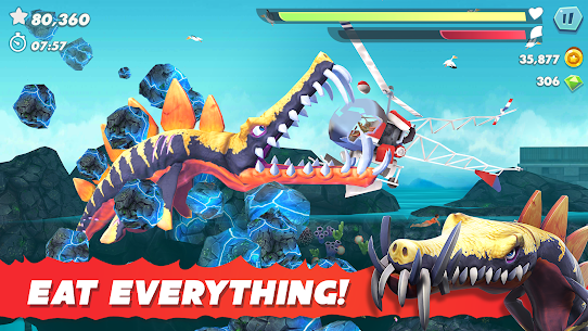 Download Hungry Shark Evolution MOD APK 7.8.0 (Unlimited Money) On Android 6