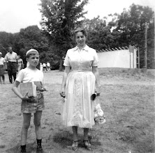 Photo: Charlie Mann and Mom on Ramah Connecticut Visiting Day
