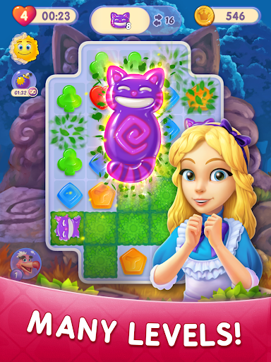 WonderMatchu2122uff0dMatch-3 Puzzle Alice's Adventure 2020 2.2 screenshots 11