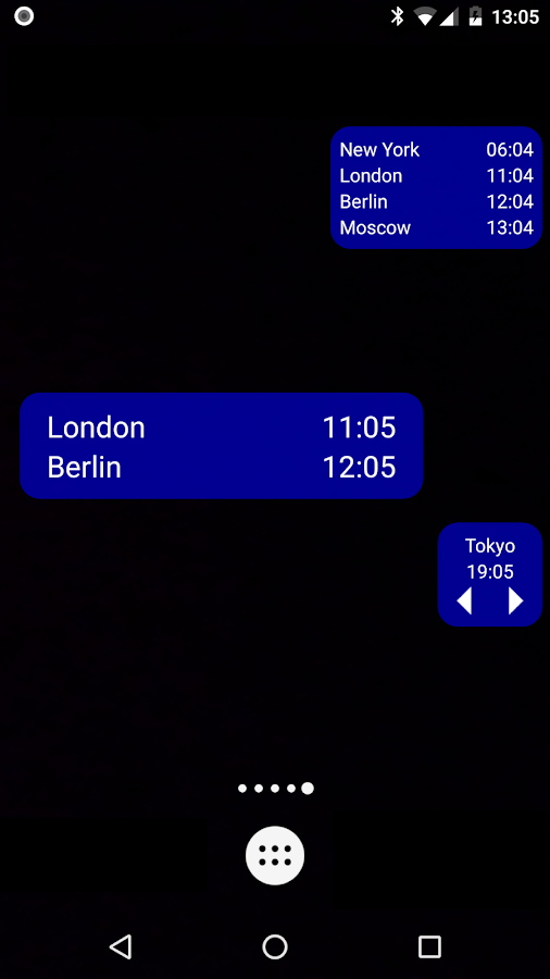 World Clock & Widget- screenshot