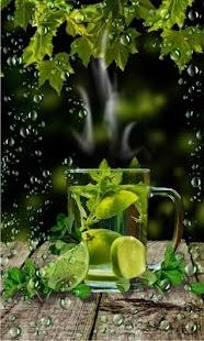 Green Tea live wallpaper - náhled