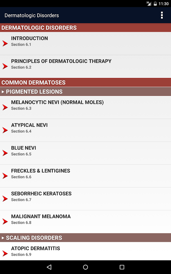 CURRENT Med Diag & Treat 2017- screenshot