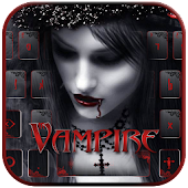 Vampire night Keyboard Theme
