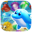 Sea Mania Island: Free Match3 Summer Vacation Game icon