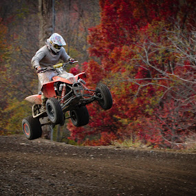 Motocross by Daniel Tompkins - Sports & Fitness Other Sports ( quad, motocross, motorcycle )