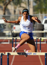 Photo: Liliana Lopez 2nd 400 Hurdles 69.78