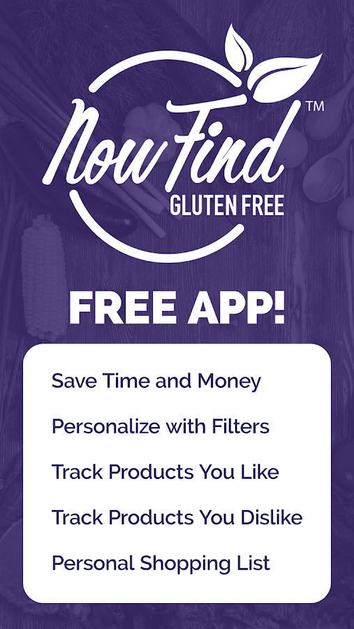 Now Find Gluten Free- screenshot
