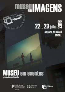 Museu em Imagens no pátio do Museu de Lamego em julho