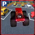 Multi nível monstro parking icon