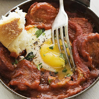 Mediterranean Sausage and Eggs