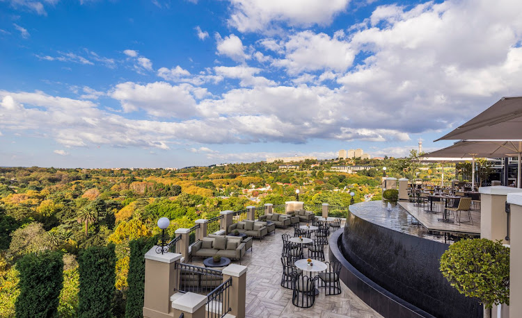 Four Seasons Hotel, The Westcliff - Flame Terrace