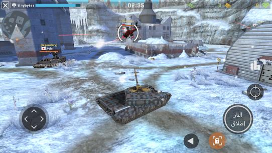 Massive Warfare – – لعبة دبابات مجانية 3