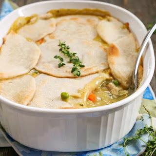 Paleo Chicken Pot Pie Casserole.