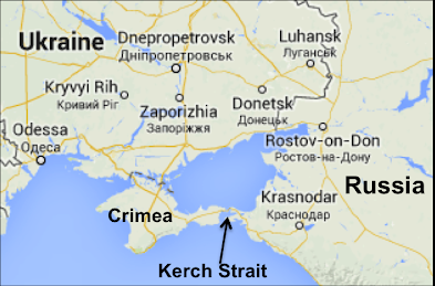 Image result for kerch strait